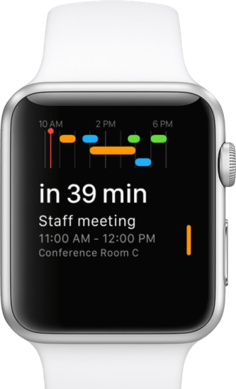 Fantastical 2 for Apple Watch Glance
