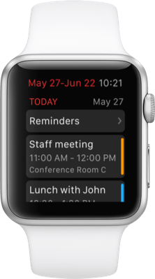 Fantastical 2 for Apple Watch
