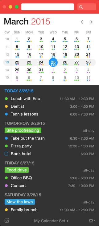 Track your tasks